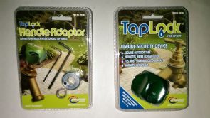 TapLock with Handle Adaptor Kit For Outside Garden Tap